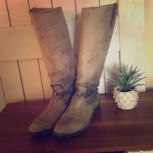 Frye Lindsay Plate boots size 10
